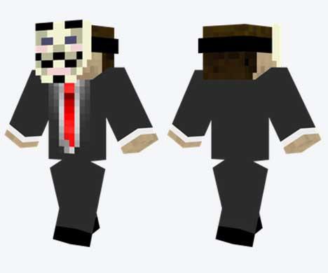 Skin de Anonymous