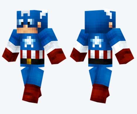 Skin de Capitán América