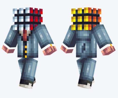 Skin de cubo de Rubik