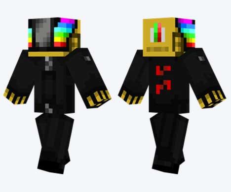 Skin de Daft Punk