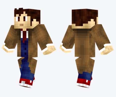 Skin de Doctor Who
