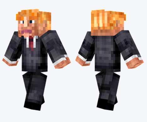 Skin de Donald Trump