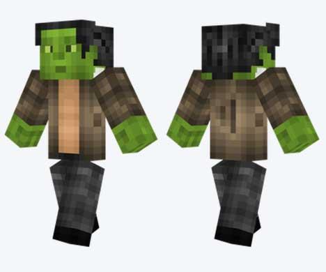 Skin de Frankenstein