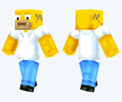 Skin de Homer Simpson