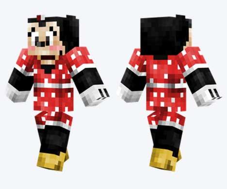Skin de Minnie Mouse