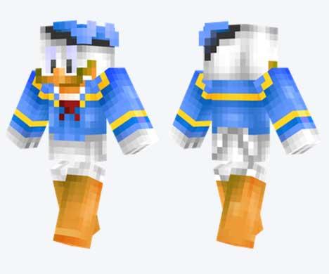 Skin de Pato Donald