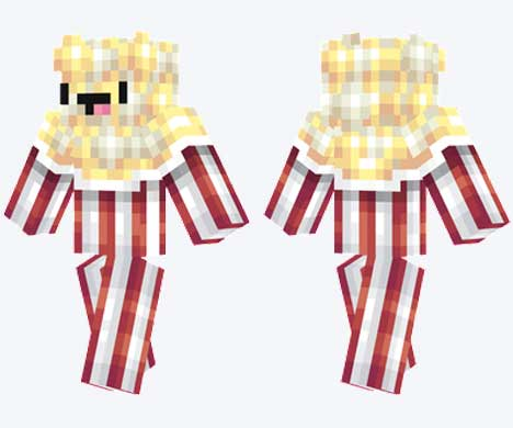 Skin de Popcorn