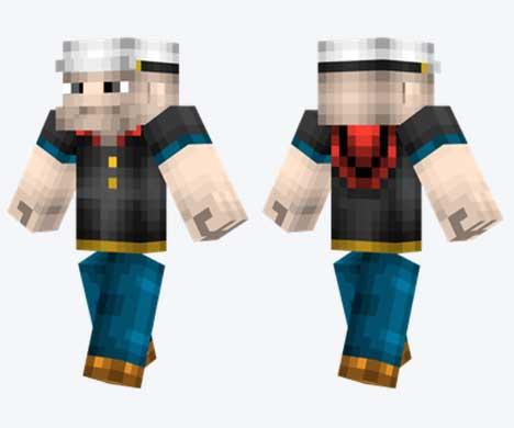 Skin de Popeye