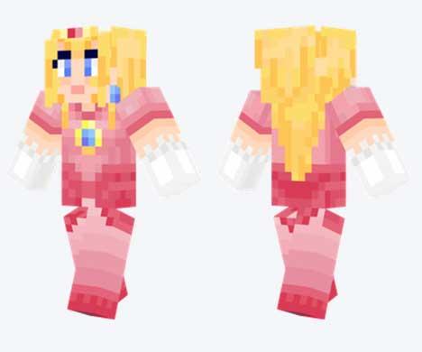 Skin de Princesa Peach