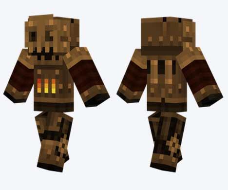 Skin de Robot Steampunk