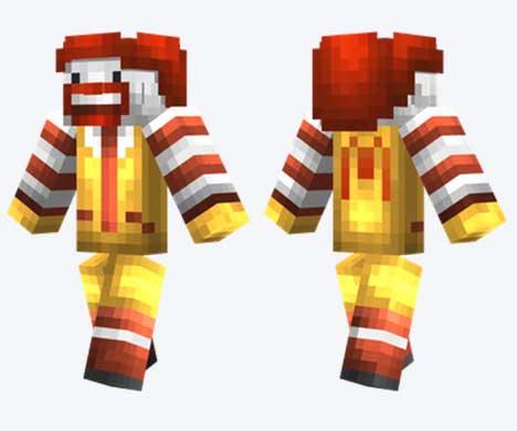Skin de Ronald McDonald