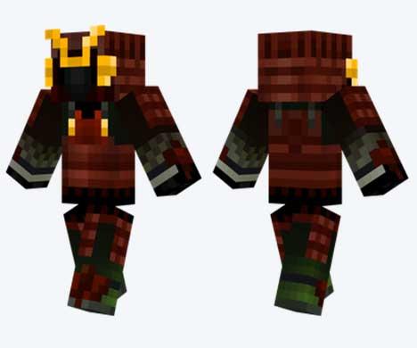 Skin de Samurai