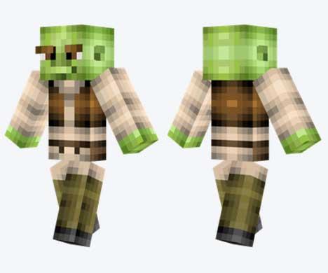 Skin de Shrek