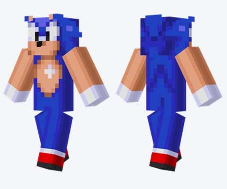 Skin de Sonic the Hedgehog