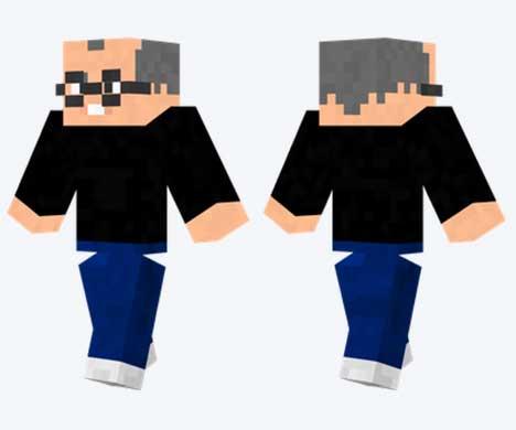 Skin de Steve Jobs