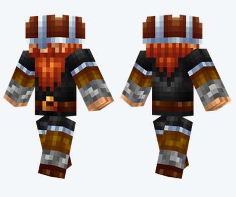 Skin de Vikingo