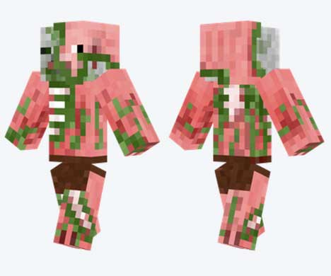 Skin de Zombi Pigman