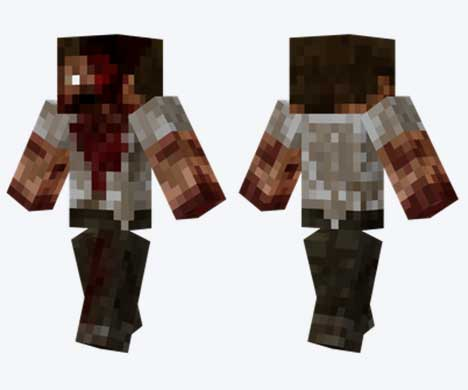 Skin de zombi personalizado