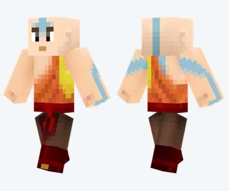 Skin de Aang