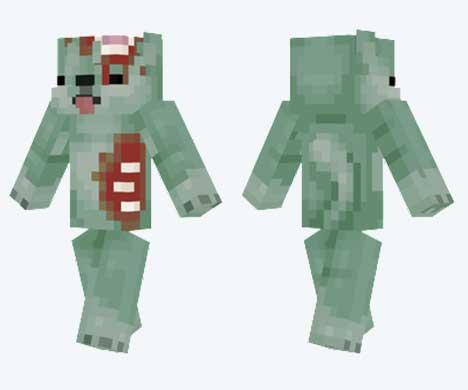 Skin de Doge zombi
