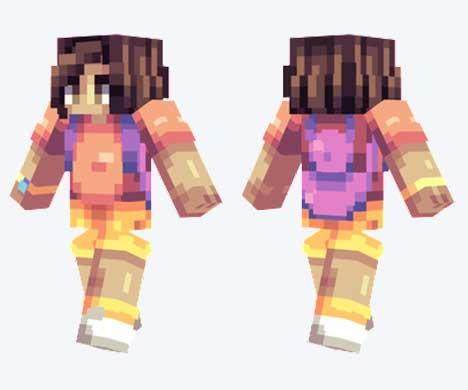 Skin de Dora, la exploradora