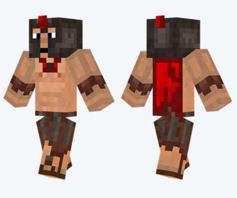 Skin de espartano