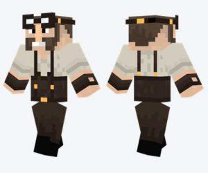Skin de ingeniero Steampunk
