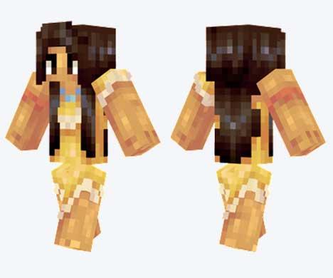 Skin de Pocahontas