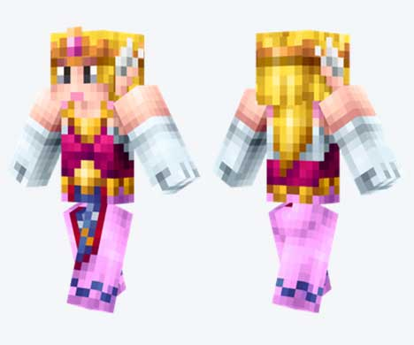 Skin de Princesa Zelda