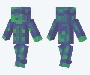 Skin de soldado de plástico