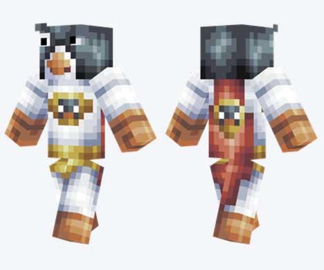 Skin de super pingüino