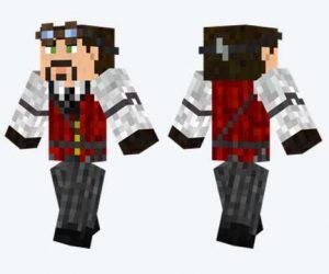 Skin de traje Steampunk