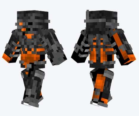 Skin de Wither robótico