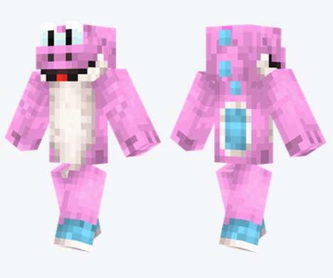 Skin de Yoshi rosa