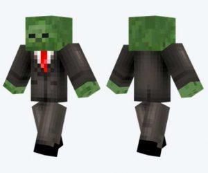 Skin de zombi trajeado