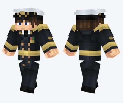 Skin de almirante