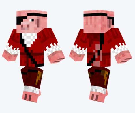 Skin de Cerdo pirata