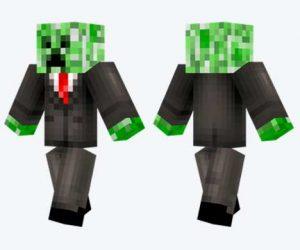 Skin de Creeper trajeado