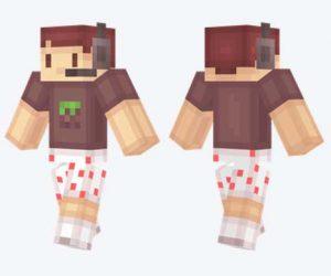 Skin de jugador de Minecraft
