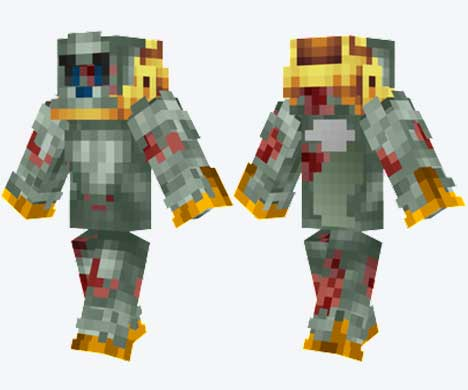 Skin de lobo zombi