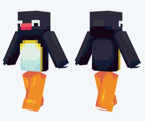 Skin de Pingu
