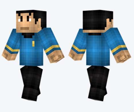 Skin de Spock